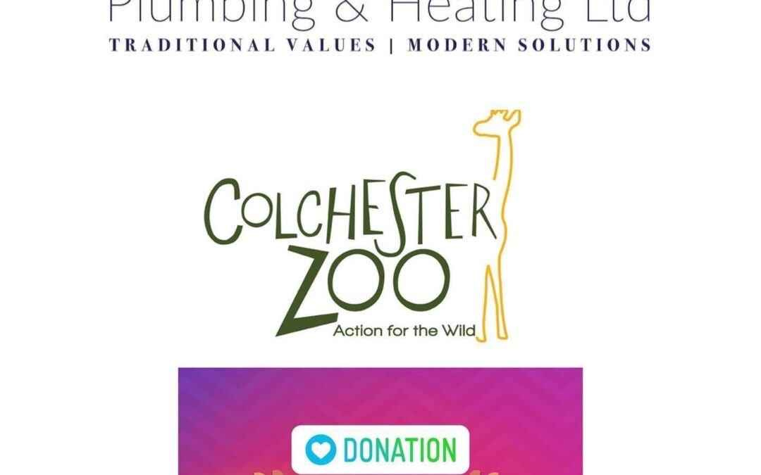 A wonderful email from Colchester Zoo thanking us